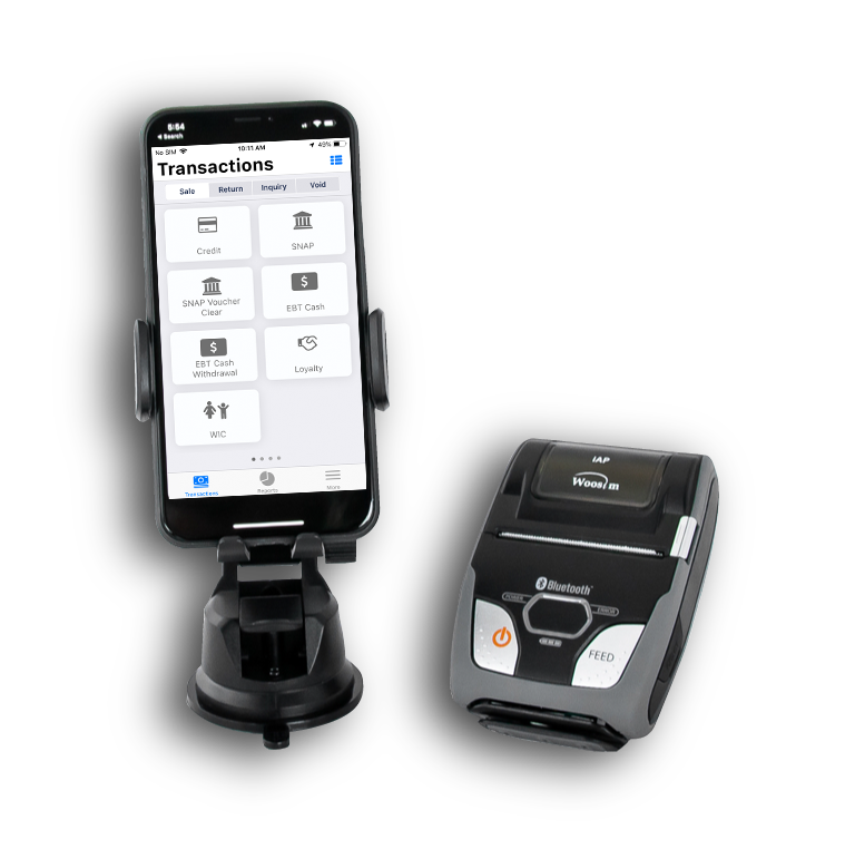 totilpay go with receipt printer